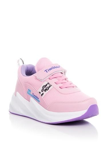 Tonny Black Pembe Lila Çocuk Spor Ayakkabı Tbz11  Tbz11-3_293 Pembe